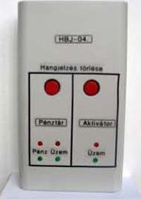 Bankjegyvédelmi rendszer (IBJCS) - Monitoring egység