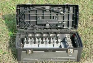 Allock elektronikus plombák és plombapántok terepen
